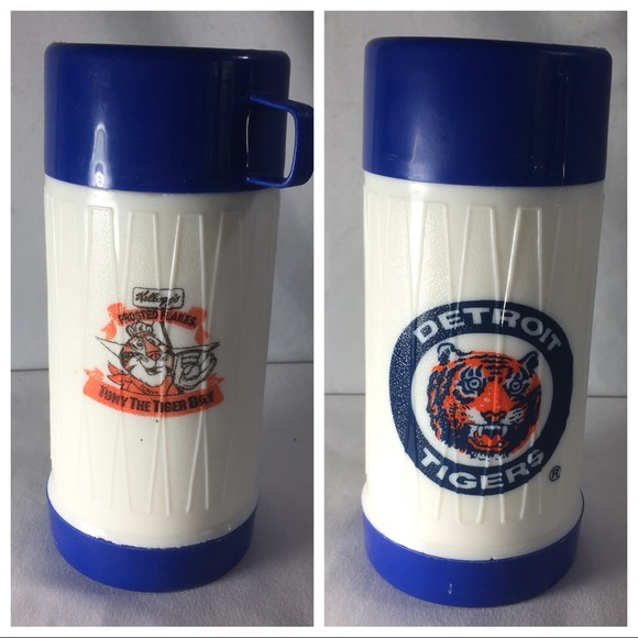 Vintage Other - Vintage thermos Kellogg cereal Detroit Tigers
